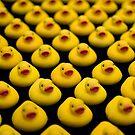 Flock of Yellow Duckies by Mark Van Scyoc