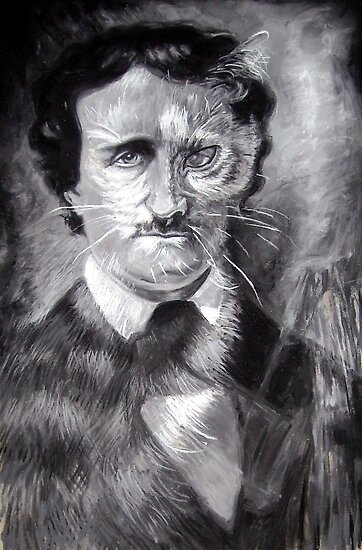 Edgar Allan Poe, The Black Cat by Cameron Hampton