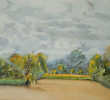 The French Watercolors:  Tournesols, Boesse by Phyllis Dixon