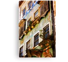 another Portuguese facade Canvas Print