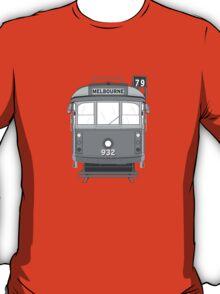 Melbourne Heritage Tram (B/W) T-Shirt