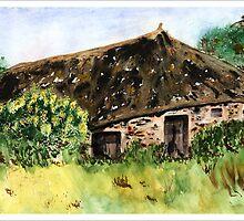Peasant House by Joyce Ann Burton-Sousa