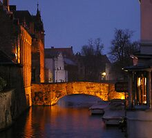 Bridge un Bruges (Belgium) by Frederic Chastagnol