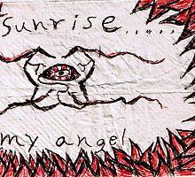 Sunrise my angel by LordMasque