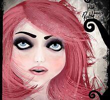 Dear little doll series... MUFFIE by ROUBLE RUST