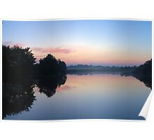 Another Swamp Sunrise Near Home Poster