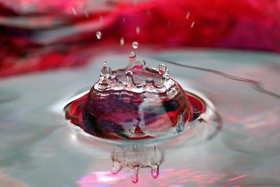 Red Crystal by yolanda