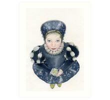 My dear little Lizetta.. Art Print