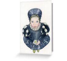 My dear little Lizetta.. Greeting Card
