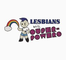 Lesbians with SUPERPOWERS! by Thur