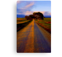 """Road to Buckley"" Canvas Print"
