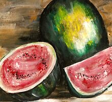 Watermelon by Pamela Plante