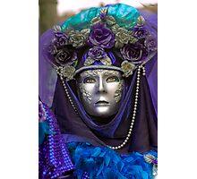 Venice - Carnival  Mask Series 09 Photographic Print