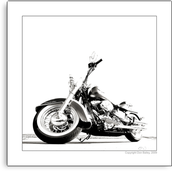 """Harley-Davidson Deluxe II"" by Don Bailey"