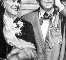 Frank Lloyd Wright @ www.KeithMcDowellArtist.com  by © Keith McDowell, Artist