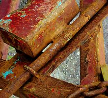 Rusty Ole Thing by Orla Cahill Photography