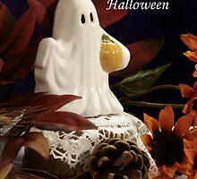 Halloween Ghost by Sheryl Kasper