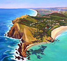 Byron Bay by Guntis Jansons
