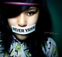 never yawn. by madasrabbitsLV