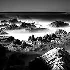 Air, Water, Rock IV by Tatiana R