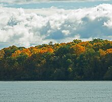 Autumn on the Saint Lawrence  by Mike Oxley