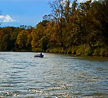 Autumn on the river by cherylc1