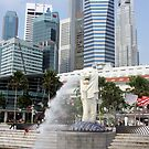 Singapore's Merlion by Dan Shiels