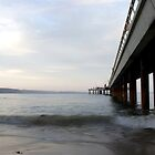 Under the pier by pennphotography