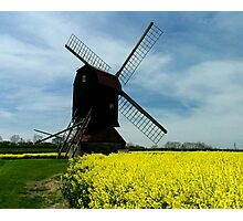 Stevington Windmill Photographic Print