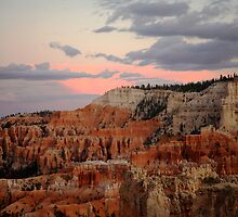 Sunset, Bryce Canyon National Park by Olga Zvereva