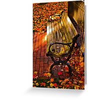 Autumn fever Greeting Card