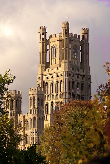 Ely Cathedral Tower (UK) by evilcat