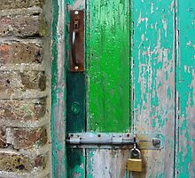 Weathered Door by Orla Cahill Photography