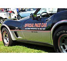 1978 Corvette - Indy 500 Pace Car Photographic Print