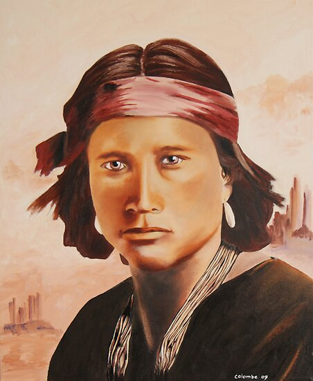 L'apache by Colombe  Cambourne