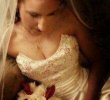 Bride Waiting by Lindsay Woolnough (Oram)