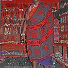 Maasai Shopkeeper, Zanzibar, Tanzania by Adrian Paul