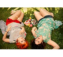 days of fun and frolic Photographic Print