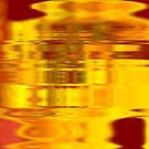 SR Grant Original Digital Painting Artwork: GOLDIE GOLDIE DISCO from new series 2009 by srgrant