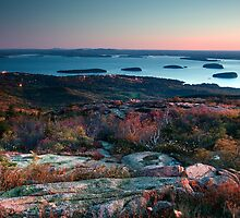 Dawn at Cadillac - Acadia National Park by Patrick Downey