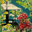 Old Iron Bird Feeder by Jim Phillips