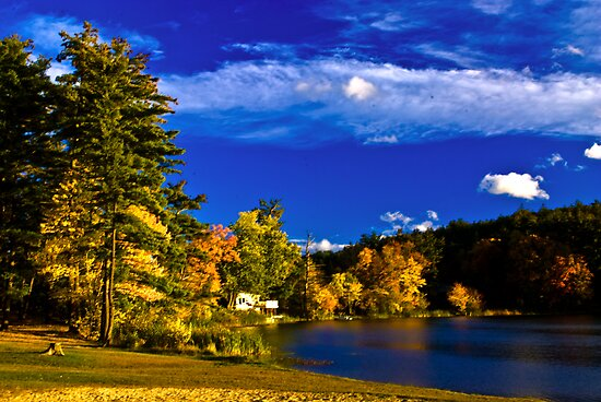 Crystal Lake, NH by LudaNayvelt