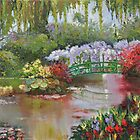 Giverny - Monet&#x27;s Garden by Joy Skinner