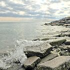 Lake Ontario shoreline, Bluffer's Park by AskinImages