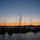 Sunset on Lake Champlain by LeeHicksPhotos