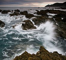South Coast Bach Splash by Ken Wright