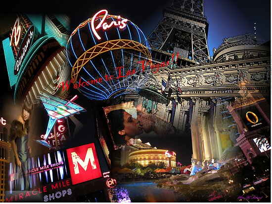 Welcome to Las Vegas!! by Rita  H. Ireland