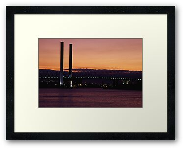 Bolte Bridge at Sunset by parischris