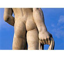 Athlete Statue at Foro Italico, Rome, Italy  Photographic Print