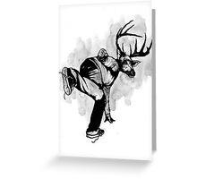 Deer God (Save Us) - Part 4 - Final Inks Greeting Card